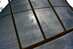 Grey Abstract-Architekturbaudesign Stockfoto