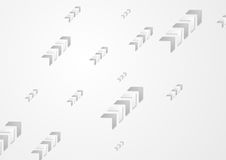 Grey abstract arrows technology background. Vector design Vector Illustration