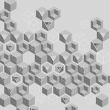 Grey abstract background with geometric pattern. Vector illustration vector illustration