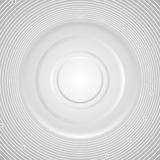Grey abstract circles technology background Stock Photography