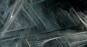 Grey abstract fractal background. Image Royalty Free Stock Photo