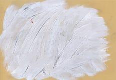Grey abstract hand painted watercolor daub vector illustration Royalty Free Stock Photos