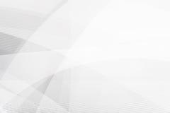 Grey Abstract-Hintergrundgeometrieglanz und Schichtelementvektor Lizenzfreie Stockfotos