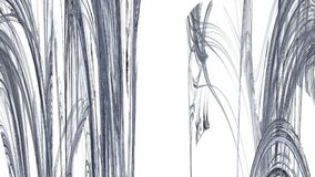 Grey Abstract Stalactites Moving stock illustratie