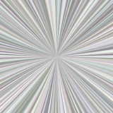 Grey abstract starburst background. From radial stripes Stock Photography