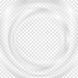 Grey abstract transparent circle background Stock Photography