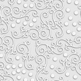 Grey abstract vintage 3d Seamless background stock photos
