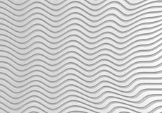 Grey abstract wave 3d Seamless background. Abstract wave 3d Background, Vector Seamless Pattern. Trendy Design Template web sites, book etc Royalty Free Stock Images