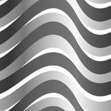 Grey abstract wave in a seamless pattern Royalty Free Stock Photo