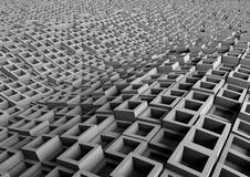 Grey abstract waves Royalty Free Stock Photos