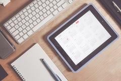 Grey Apple Keyboard and Grey Ipad Stock Photography