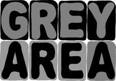 Grey Area Illustration Vector Royalty Free Stock Images