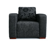 Grey armchair Royalty Free Stock Photo