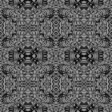 Grey art deco pattern Royalty Free Stock Images