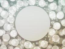 Grey background abstract background  bokeh Stock Photo