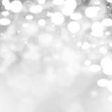 Grey Background claro abstrato Fotografia de Stock