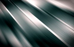 Grey background. Stripes diverge from the upper corner downwards. Royalty Free Stock Images