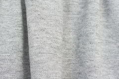 Grey background texture cotton material Stock Photography