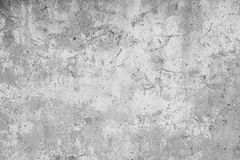 Grey background wall cracked Stock Images