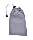 Grey Bags White Rope Fabric Isolated Clipping Path Royalty Free Stock Photography