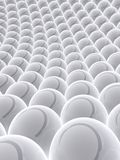Grey balls Royalty Free Stock Photos