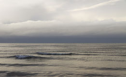 Grey Baltic sea. Royalty Free Stock Photography