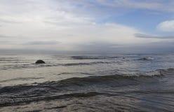 Grey Baltic sea. Royalty Free Stock Photos