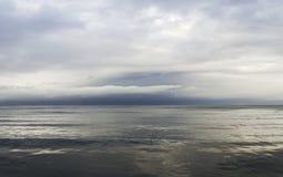 Grey Baltic sea. Stock Photos