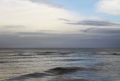 Grey Baltic sea. Stock Image