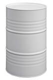 Grey barrel Royalty Free Stock Images