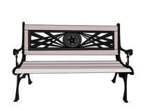 Grey Bench Royalty Illustrazione gratis