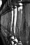 Grey and Black Concrete Pillar Royalty Free Stock Photos