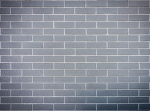Grey block brick wall Stock Photos