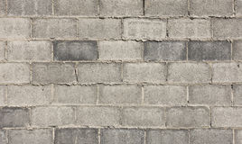 Grey block wall texture Royalty Free Stock Photo