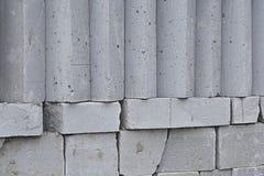 GREY BLOCKS Stock Image