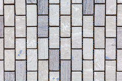 Grey Blue Design Stone Tiles Royalty Free Stock Photography