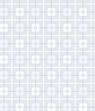 Grey-blue, geometric, seamless pattern, squares, background. Stock Image