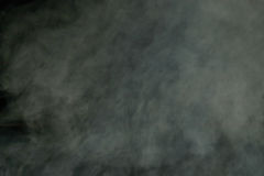 Grey blurry smoke. Texture at dusk Royalty Free Stock Images