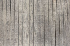 Grey Board Fence Background en bois lavé par blanc Photos stock