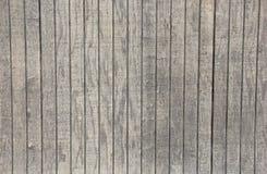 Grey Board Fence Background en bois lavé par blanc Photos stock