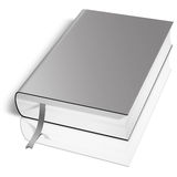 Grey book Royalty Free Stock Photography