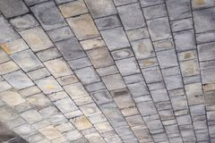 Grey Brick Ceiling Texture Background Royalty Free Stock Image