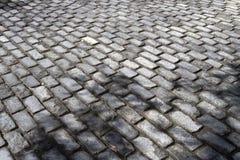 Grey brick ground Royalty Free Stock Photo