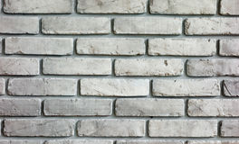 Grey Brick-muur achtergrondtextuur Stock Foto