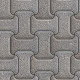 Grey Brick Pavers. Seamless Texture. Royalty Free Stock Image