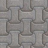 Grey Brick Pavers. Seamless Texture. Royalty Free Stock Image