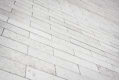 Grey brick stone street road. Light sidewalk Stock Photography
