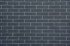 Grey Brick Wall Stock Photo