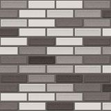 Grey brick wall Royalty Free Stock Photography