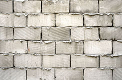 Grey brick wall Royalty Free Stock Images